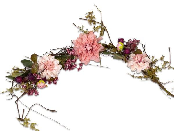 Formano Tischdeko Dahlie pink 86cm