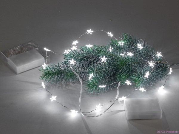 Formano Lichtgirlande Sterne 150 cm