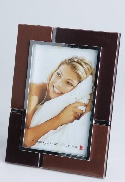 Formano stilvolle Fotorahmen 10x15cm in braun