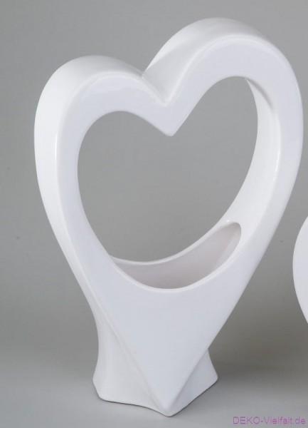 Formano Herz - Vase Bianco 40cm