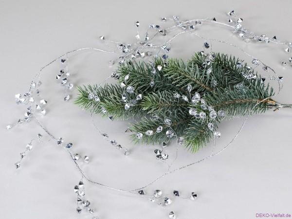 Formano Girlande Acrylperlen Spiegeloptik 150 cm