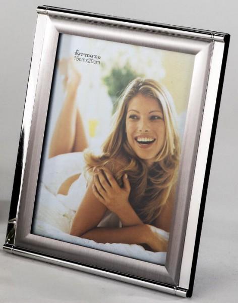 Formano Fotorahmen Duo-silber 15x20cm
