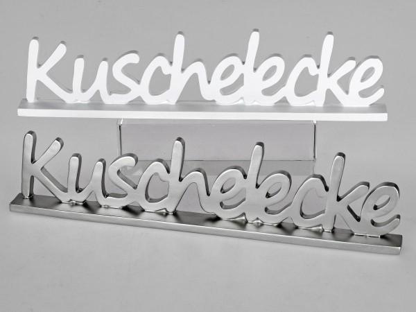 Schriftzug Kuschelecke