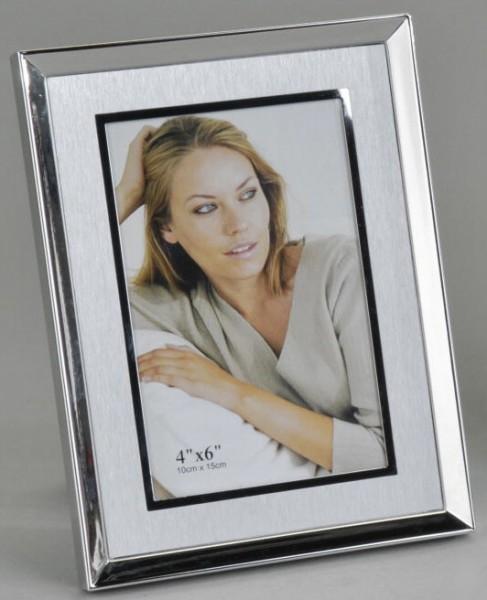 Formano Fotorahmen Silber matt 10x15cm