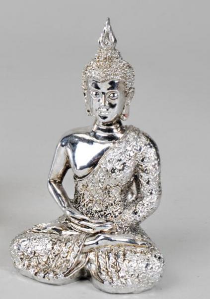 Formano Kunststein-Figur Buddha, 13 cm