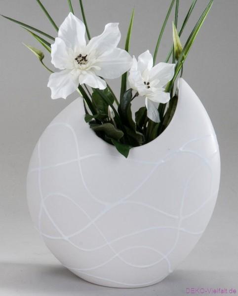 Formano Vase Flunder 21 x 26 cm