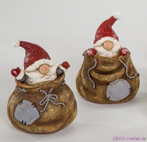 Formano Weihnachtsmann im Sack 9cm