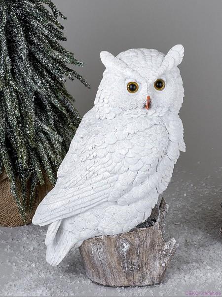 Formano Eule Winterzeit 32 cm