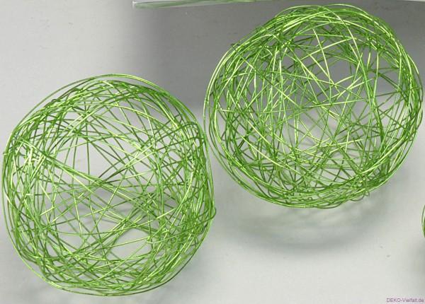 Formano Drahtbällegrün 8cm