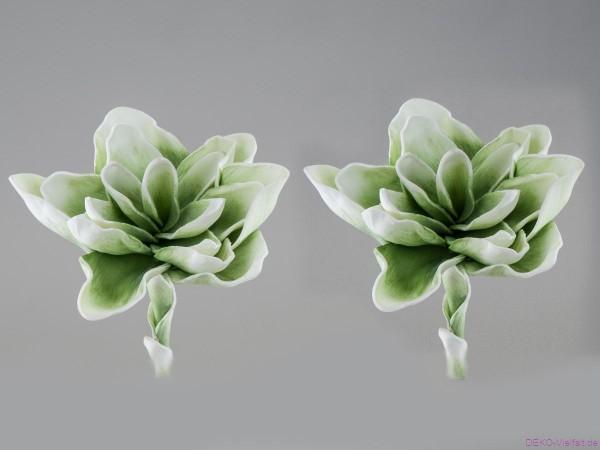 Formano Blume grün-weiß 18cm