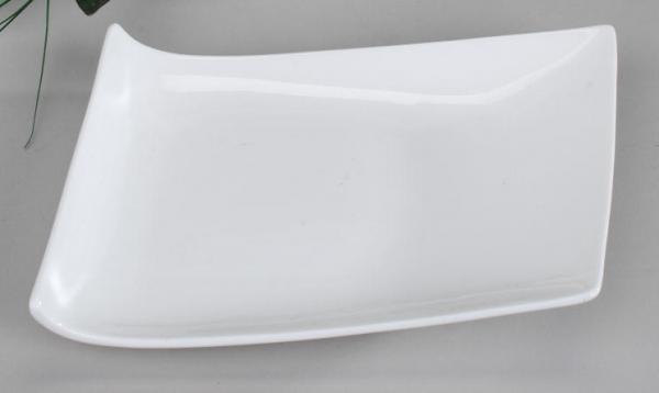 Formano Deko-Schalen Brilliant-weiss 20cm