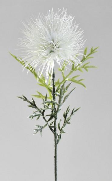 Formano Distelzweig weiß 60cm