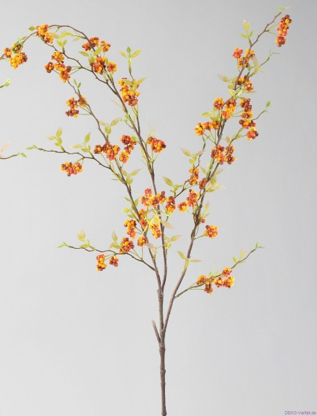 Formano Beerenzweig orange 90 cm