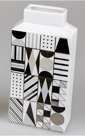 Formano Vase eckig 14x29cm Style-Retro