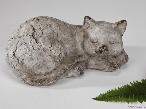 Formano Katze liegend 33 x 13 cm