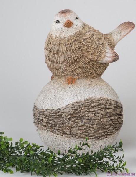 Formano Vogel auf Kugel 26 cm