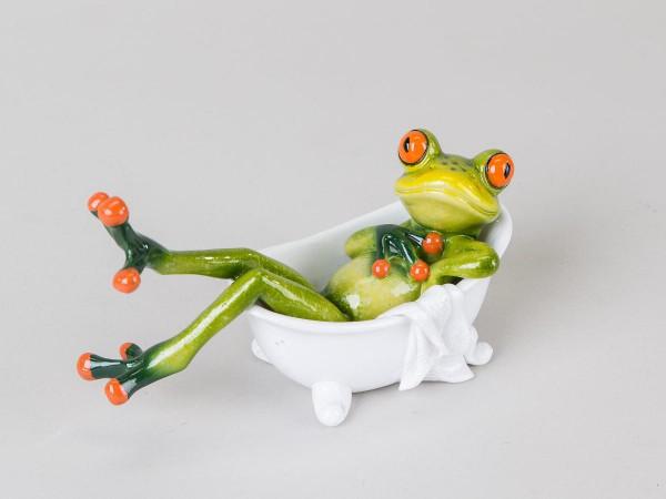 Formano Frosch in Badewanne 16 cm