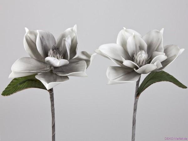 Formano Magnolie grau weiß 28cm