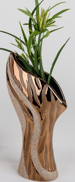 Formano Vase Antik-gold 40 cm