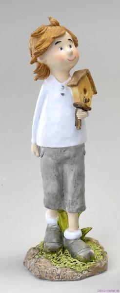 Formano SOMMERKIND Junge mit Vogelhaus 29cm