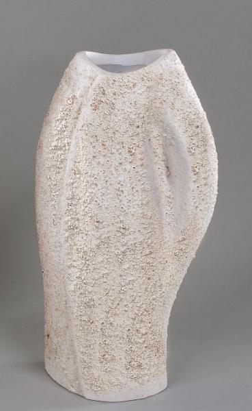 Formano Vase Vanilla-Stone, 28cm