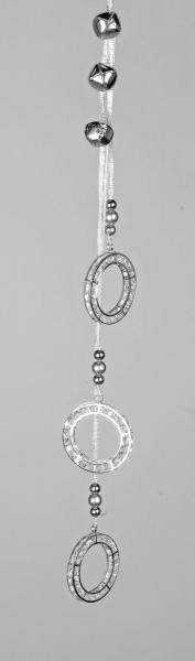 Formano Hänger 46cm aus Metall - silber
