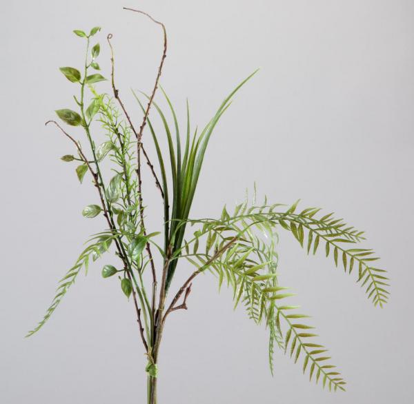 Formano Gräserbündel Mix-grün 50cm mit natürlichem Aussehen
