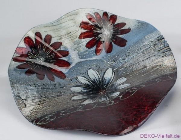 Formano Deko-Teller Blume 30 cm