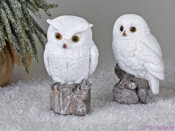 Formano Eule Winterzeit 15 cm