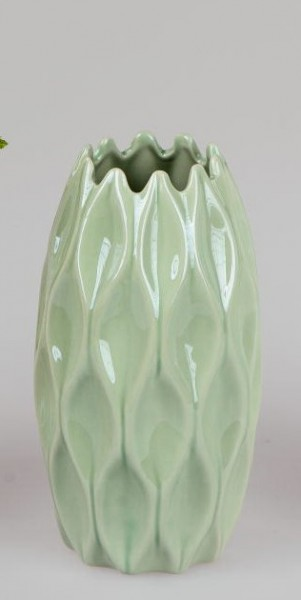 Formano Vase Sommermix, 11x20cm, grün