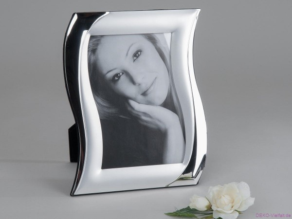 Formano Fotorahmen silber S-Form 15x20cm