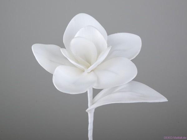 Formano Dekozweig weiß 28cm