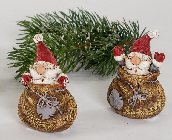 Formano Weihnachtsmann im Sack 6cm