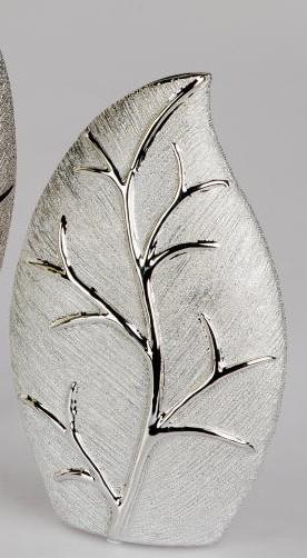 Formano Vase Baum-Champagner 15 x 25 cm
