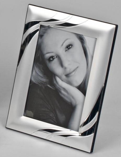 Formano Fotorahmen Silber Wellen 10x15cm