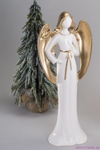 Formano Engel m. Stern creme-gold 55cm