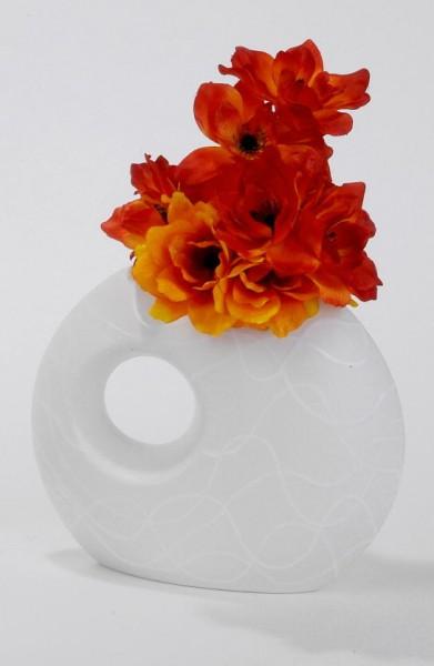 Formano Vase Samunga mit Loch 30cm