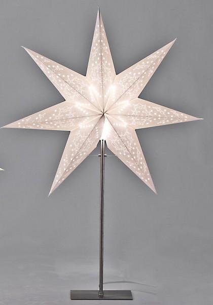 Papier-Stern 70cm a.Fuß mit Licht