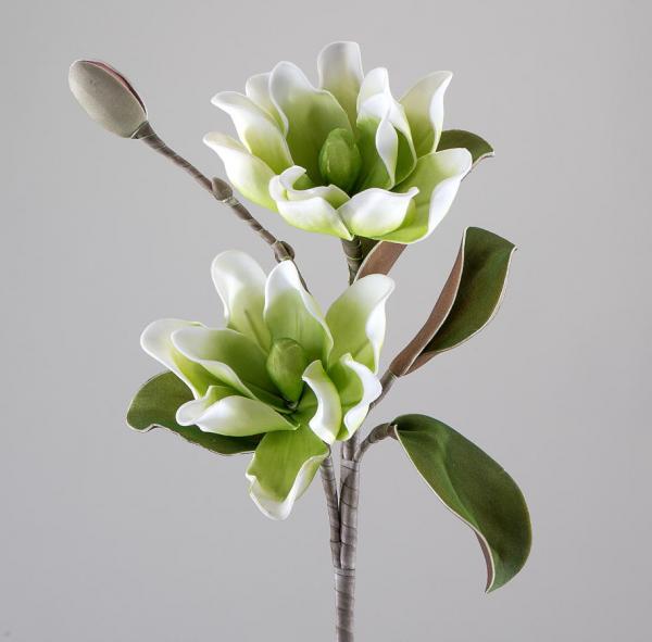 Formano Blüten-Zweig grün-weiss 95cm