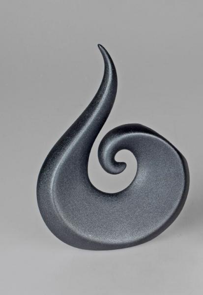Formano Vase 23cm schwarz