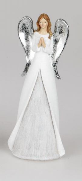 Formano Engel weiss-silber, 11 x 28 cm