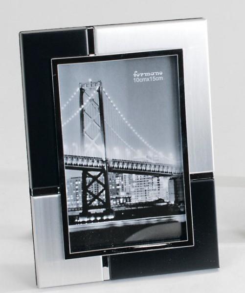 Formano Fotorahmen silber-schwarz 10x15cm