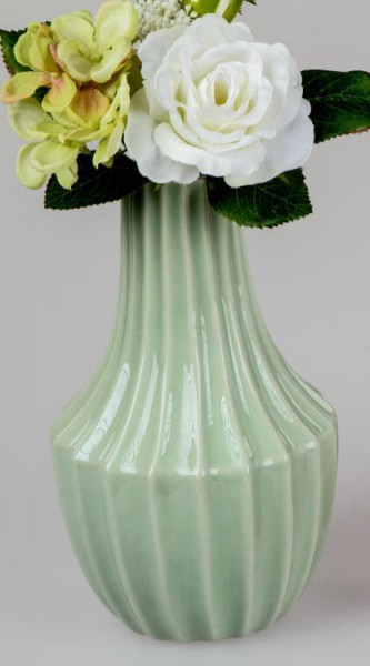 Formano Vase 22cm Sommermix in grün