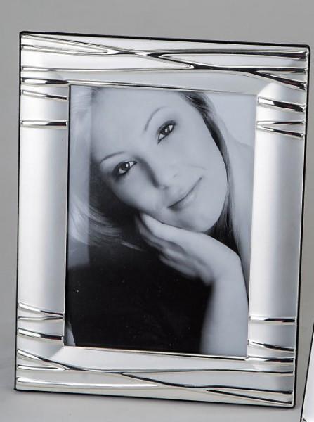 Formano Fotorahmen Silber Linien 13x18cm