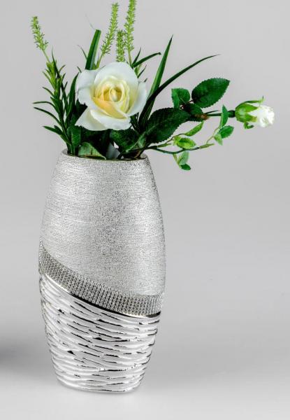 Formano Vase 12x25cm Champagner - Stones