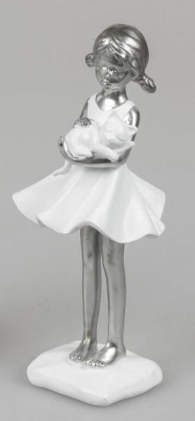 Formano Mädchen mit Katze 23 cm
