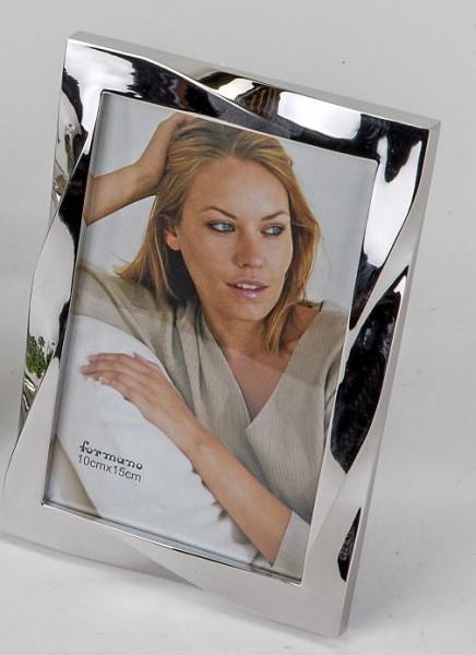 Formano Fotorahmen Welle silber 10x15cm